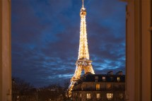 Apartment with View Paris Eiffel Tower