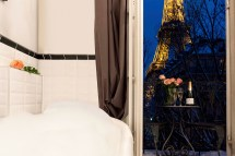 Gorgeous Bedroom Apartment With Stunning Eiffel Tower