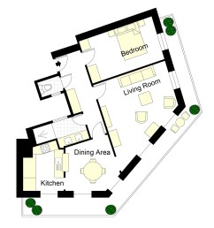 champagne paris apartment floor plan [ 1920 x 1650 Pixel ]