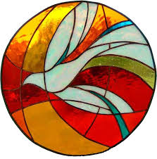 round pentecost dove