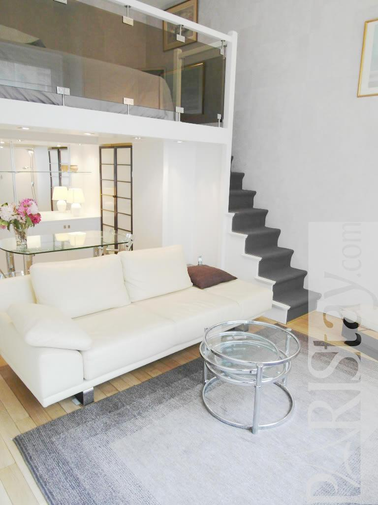 Paris location meuble Appartement type t1studio