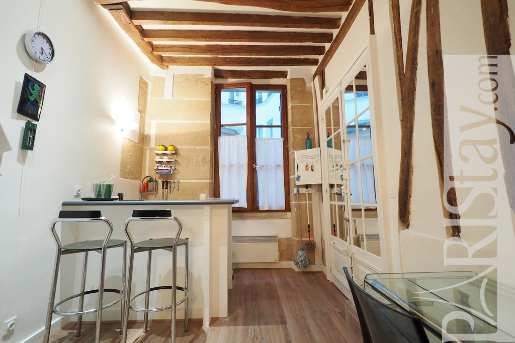 Paris location meuble Appartement t1studio Studio Galeries Lafayette