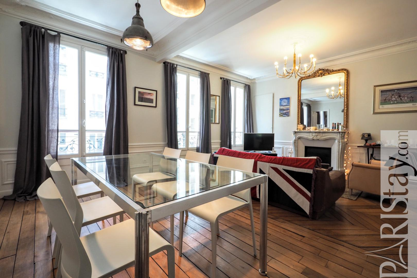 Apartment for rent in Paris France furnished 2 bedroom 75006
