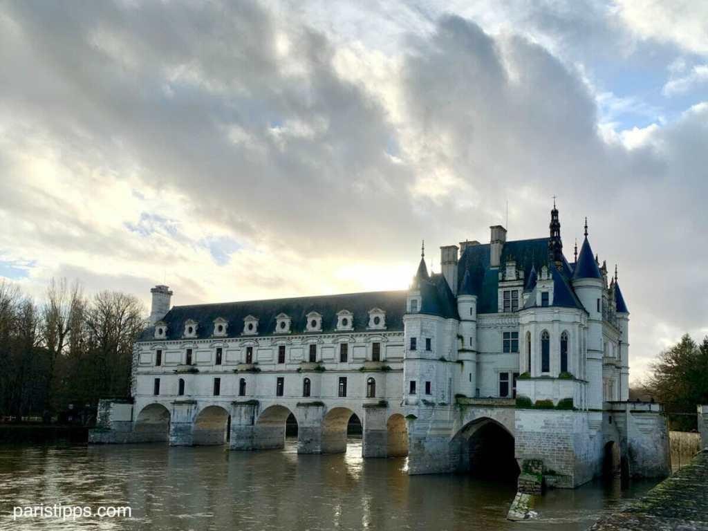 Schloss Chenonceau im Loiretal - bequem von Paris aus besuchen
