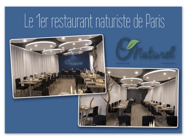 Le premier restaurant naturiste ouvre ses portes — Paris