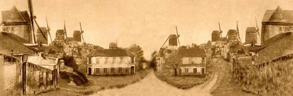 Montmartre-1852-paris-avant-photo