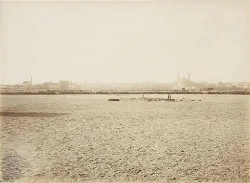 Incroyable cette photo de 1879 - le Champs de Mars avant la construction de la tour Eiffe