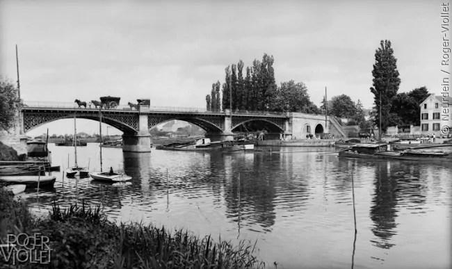 rueil-malmaison-pont-de-seine-antan