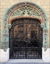 Art Nouveau Paris France