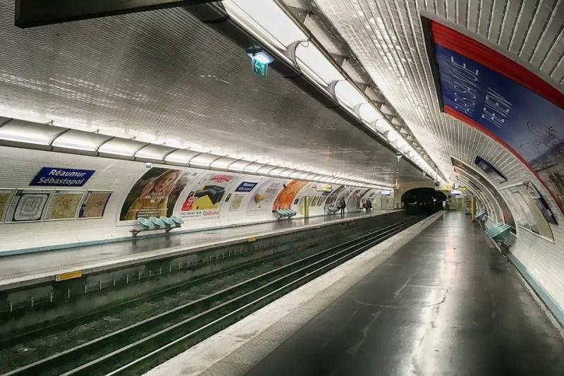 d ou vient le carrelage du metro
