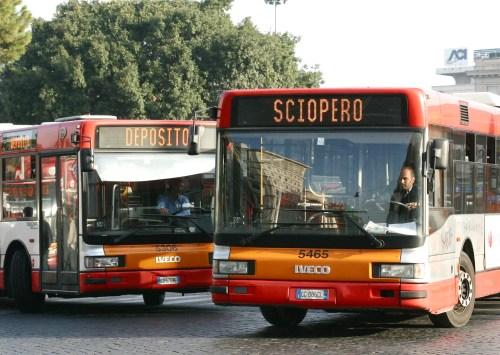Sciopero Mezzi di Trasporto Venerdi 10 Novembre 2017