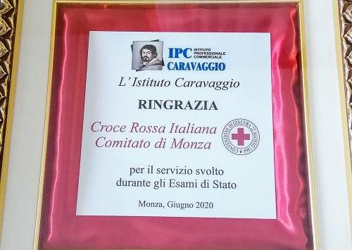 L'Istituto Caravaggio ringrazia Croce Rossa Italiana