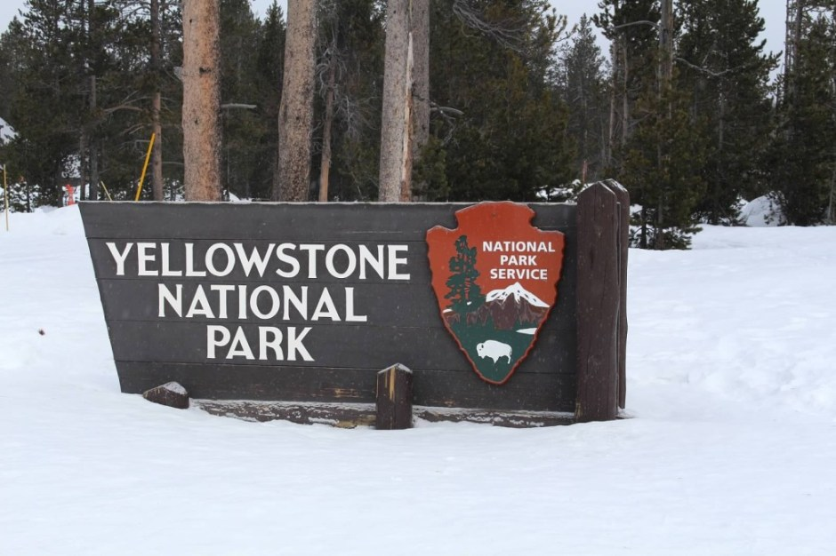 Yellowstone Entry Sign