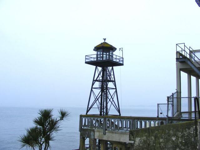 Watch Tower on Alcatraz Island