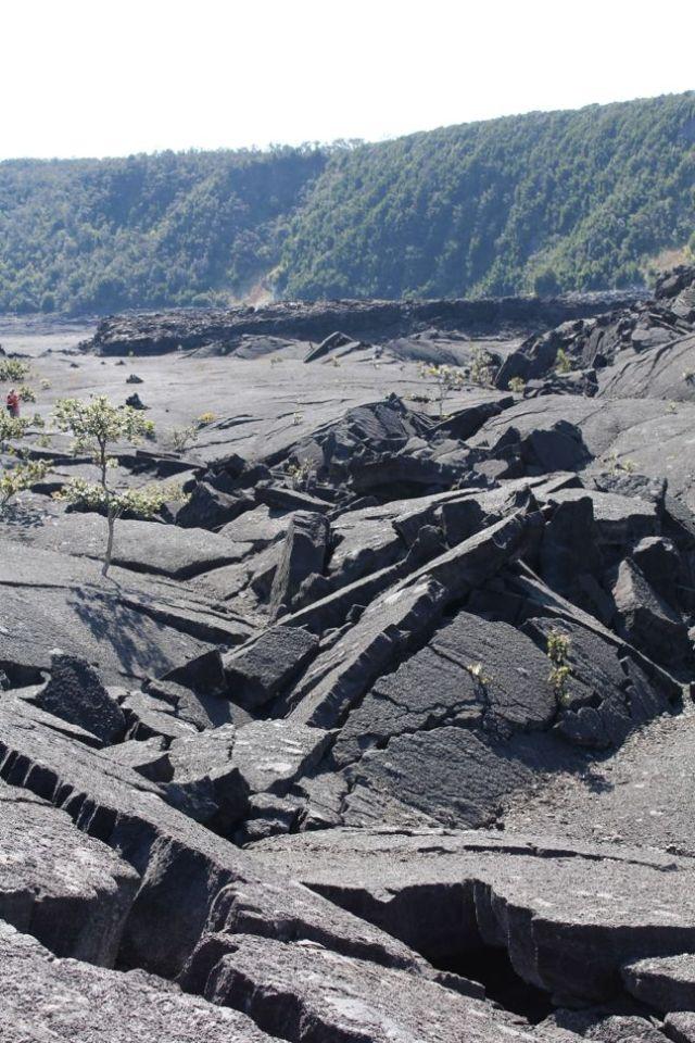 Volcanic Fissure - Kilauea Iki Crater