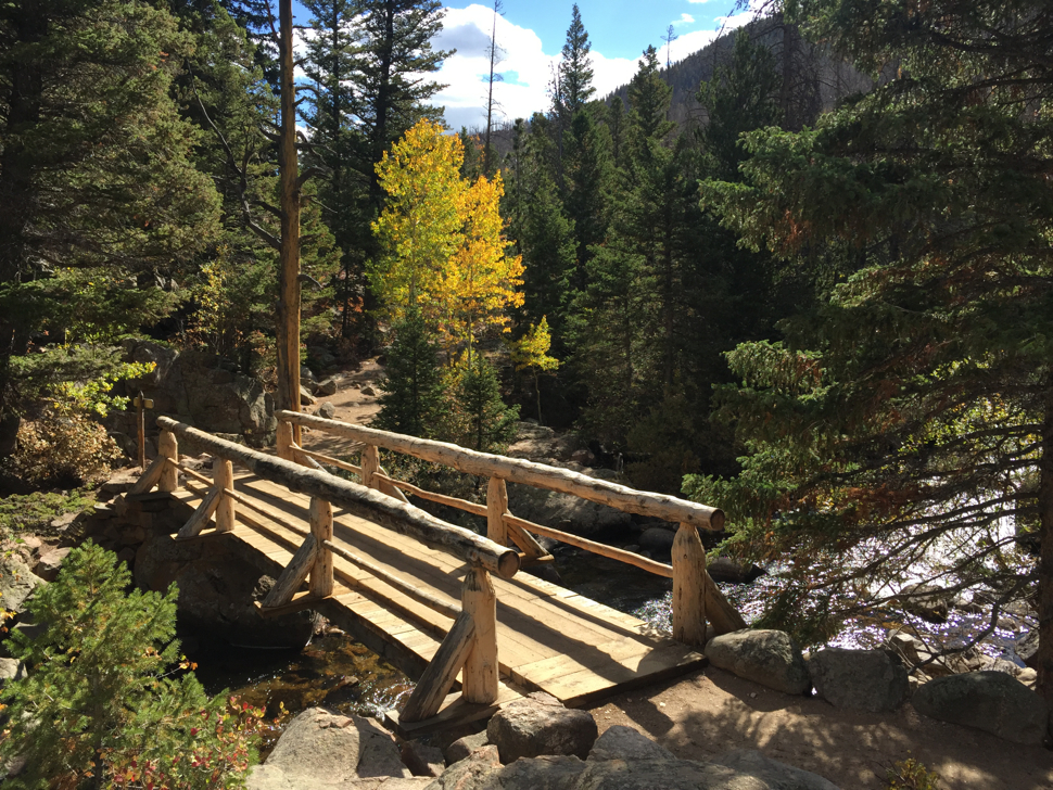 Fern Lake Trail - Rocky Mountain National Park