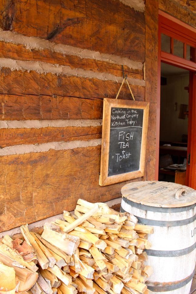 Grand Portage National Monument Kitchen