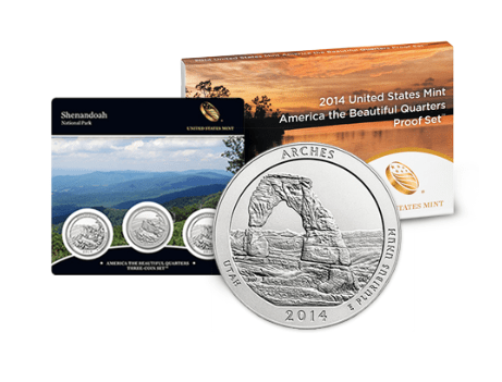 America the Beautiful Coin Program - Image provided by USMint.gov