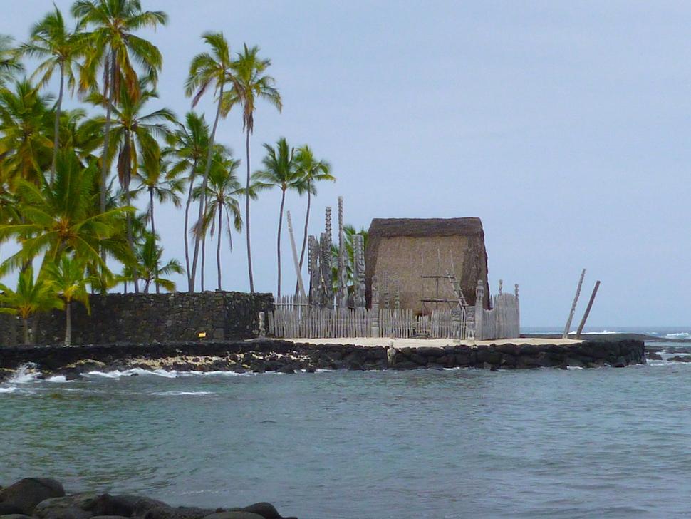"""Puuhonua o Honaunau National Historical Park means """"Place of Refuge"""""""