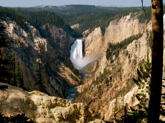 Lower Yellowstone Falls and the Grand Canyon of Yellowstone