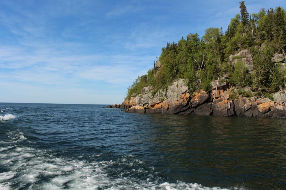 Isle Royale - MN Shore