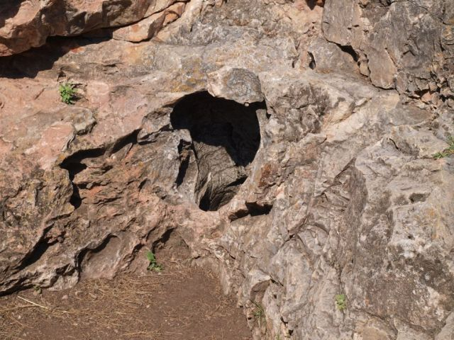 The Natural Entrance Blow Hole for Wind Cave