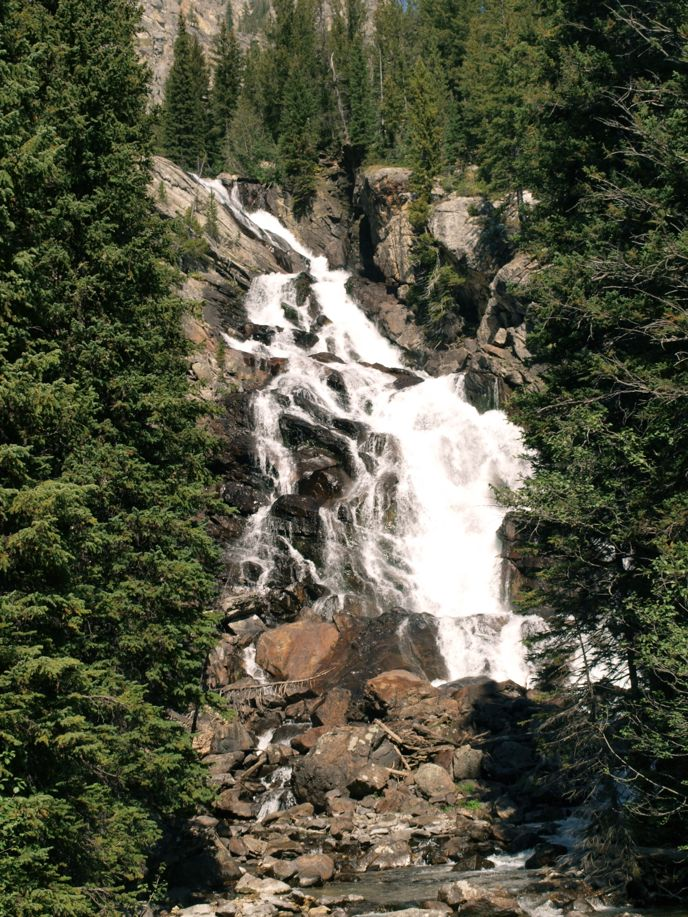 Grand Teton National Park: Hidden Falls