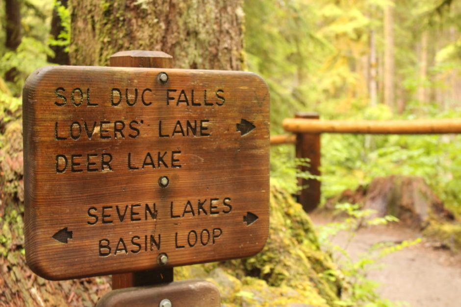 Sol Duc Trail Sign
