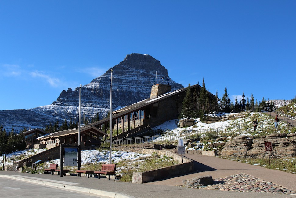 Logan Pass on the Going-to-the-Sun Road