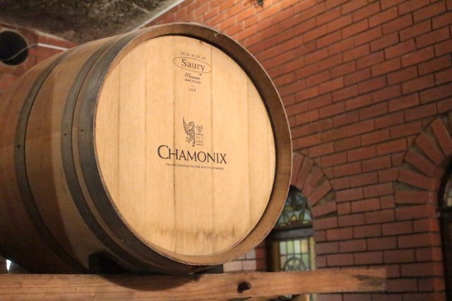 Wine Barrel from Chamonix Wine Farm
