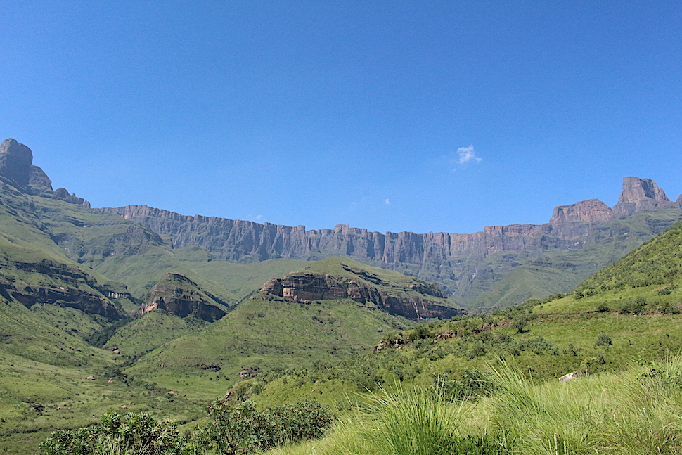 The Drakensberg Amphitheater from Royal Natal National Park