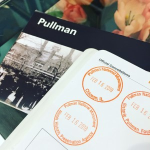 Pullman National Monument Park Stamps