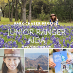 Park Chaser Profile:  Junior Ranger Aida
