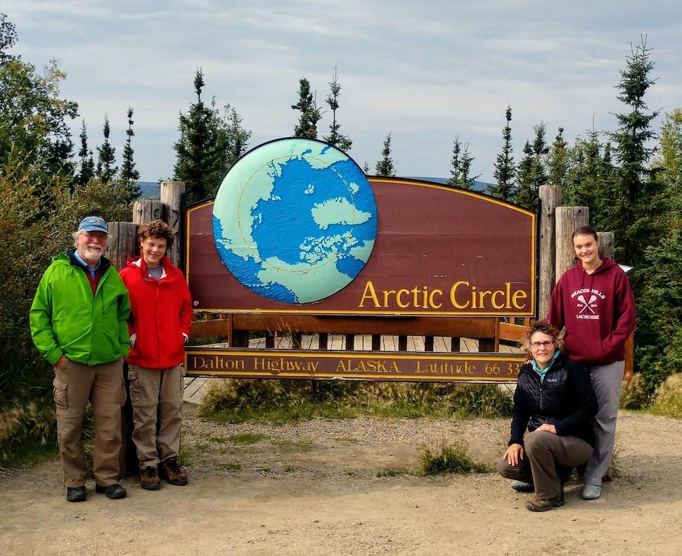 Parkbound Maitlands at the Arctic Circle