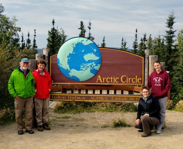 Parkbound Maitlands at the Arctic Circle