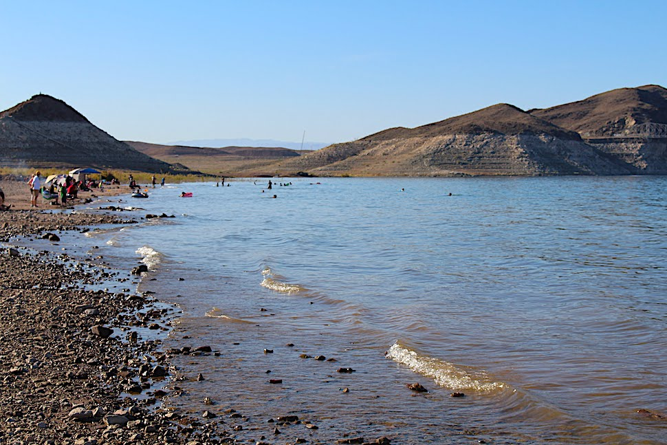 Swimming at Boulder Beach - Lake Mead NRA