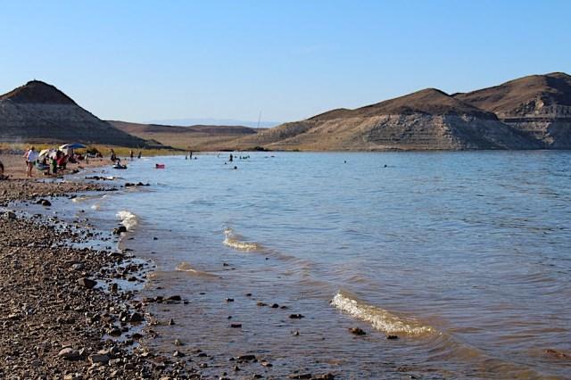 Swimming at Boulder Beach - Lake Mead NRA