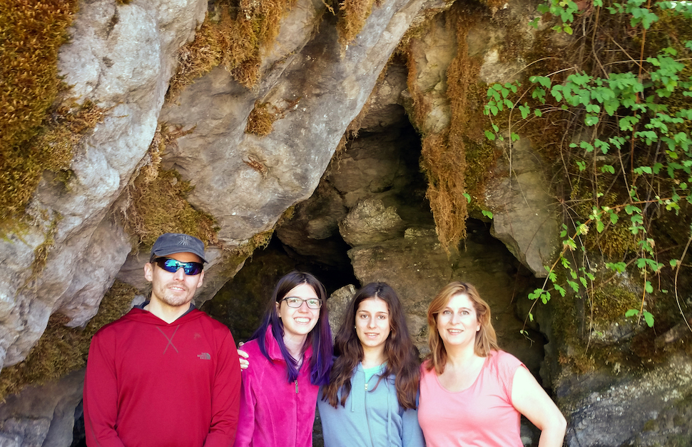Family Hiking at Oregon Caves National Monument