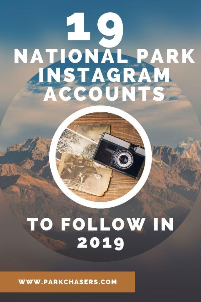 19 national park instagram accounts