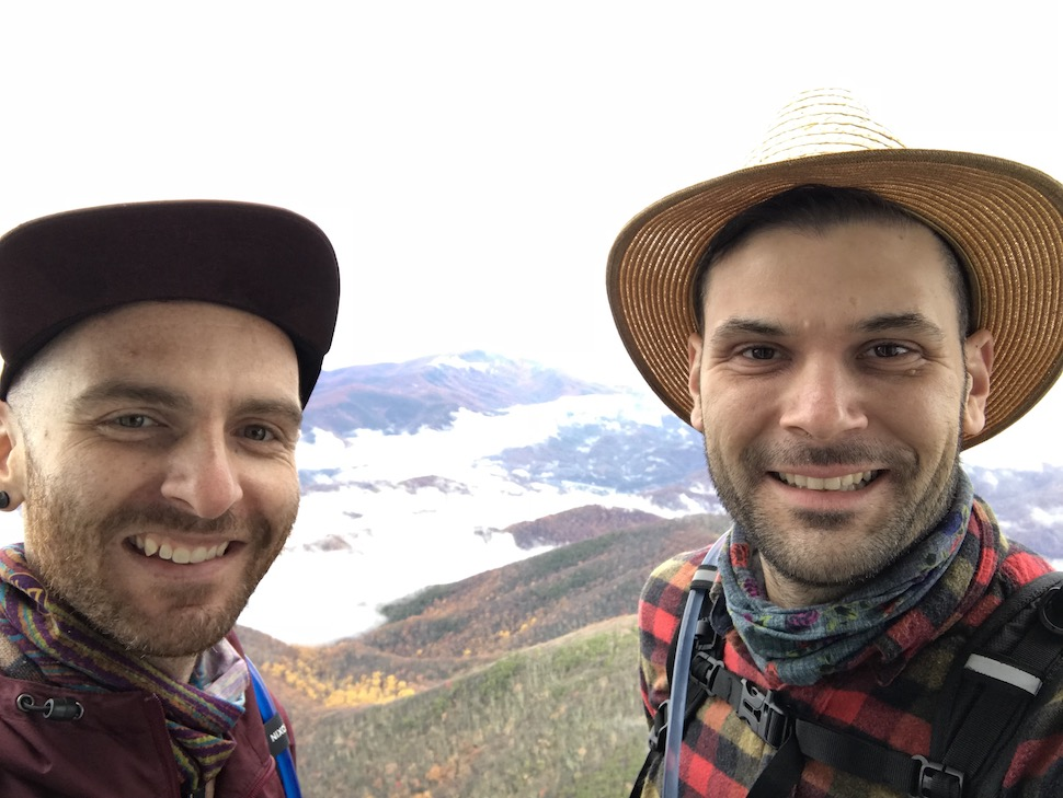 Dusty & Mike - cohosts of the Gaze at the National Parks podcast