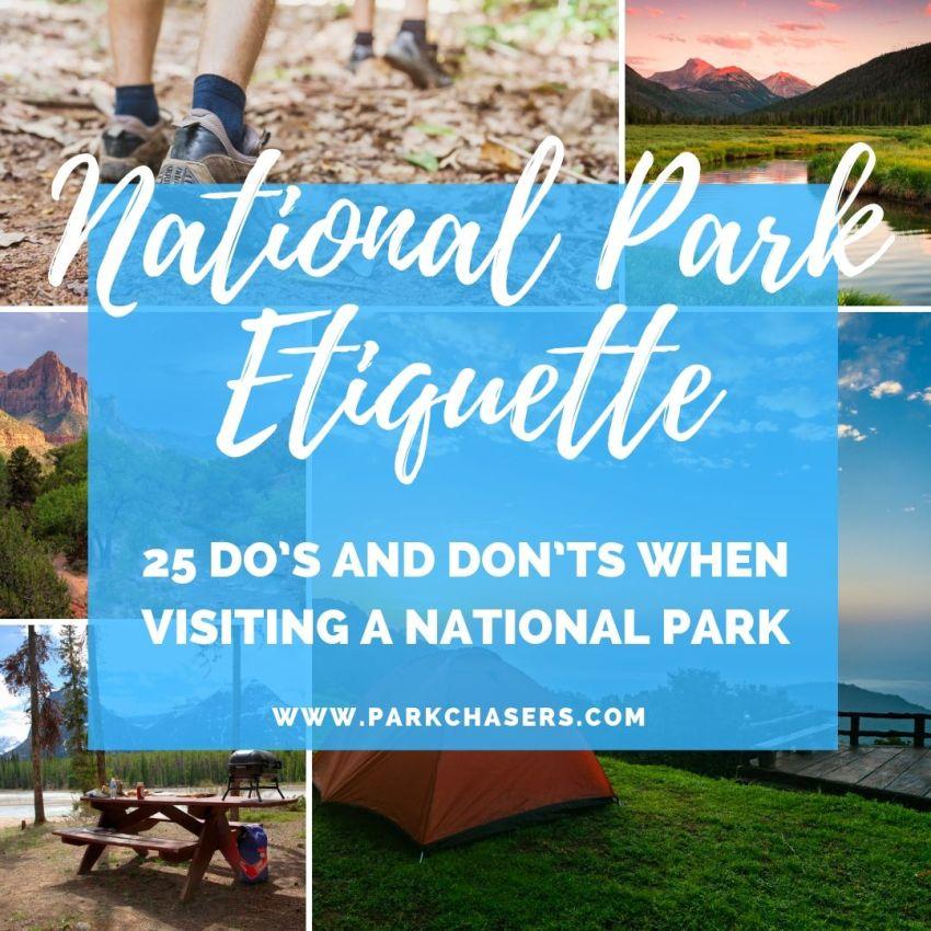 National Park Etiquette