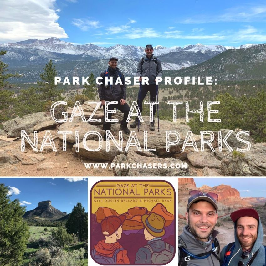 Park Chaser Profile Gaze at the National Parks