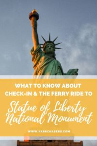 Check in and ferry ride for Visiting Statue of Liberty National Monument