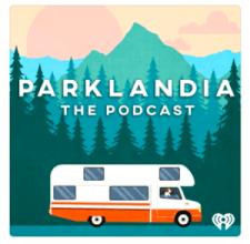 Parklandia National Parks Podcast Logo