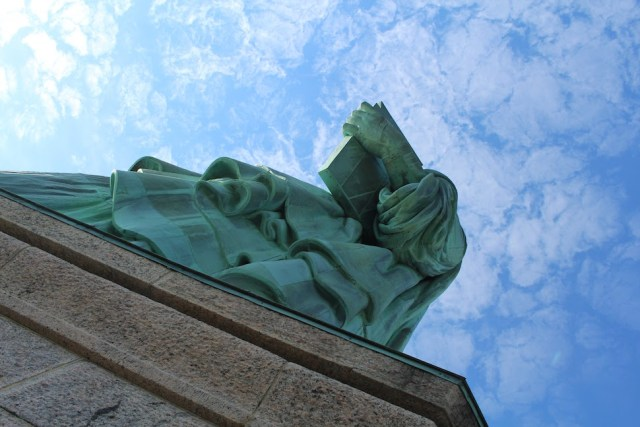 Statue of Liberty from Below