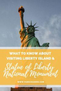 Visiting Liberty Island