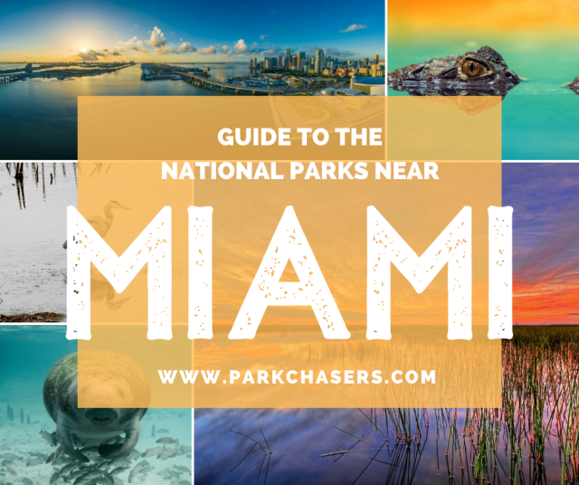 National Parks Near Miami Collage
