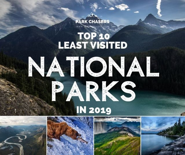Copy of Least Visited National Parks in 2019