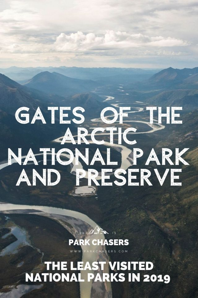 Gates of the Arctic National Park - the least visited national park in 2019