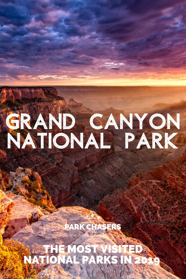 Grand Canyon National Park - #2 Most Visited National Park in 2019